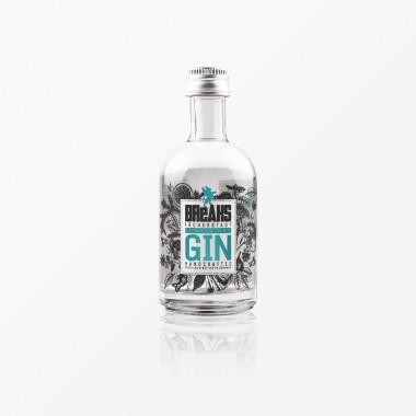 """TYPOP 3-teiliges Geschenk-Set Design GRUSSKARTE """"Gin Tonic"""" in Herzform, Little Breaks Gin & Geschenkverpackung"""