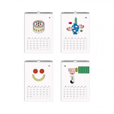 redfries essential 2021 – Monatskalender A4