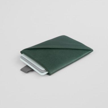 VANOOK Card Case Vertical / Malachite