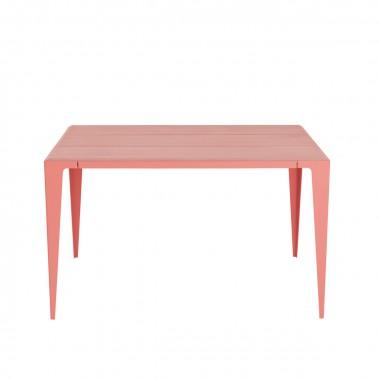 TISCH |CHAMFER| Kalypso-Rot *EXKLUSIVE KOLLEKTION*| nachhaltiges Möbeldesign | WYE
