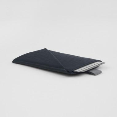 VANOOK Card Case Vertical / Charcoal