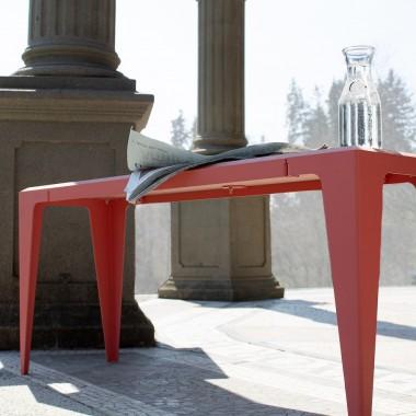 BANK CHAMFER kalypso-rot *EXKLUSIVE KOLLEKTION* | nachhaltiges Möbeldesign | WYE