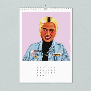 edition ij HIPSTORY Kalender 2019