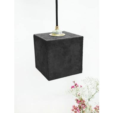 Beton Hängelampe [B1]dark Lampe Gold minimalistisch