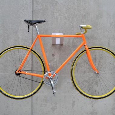 Fahrradwandhalterung aus Stahl