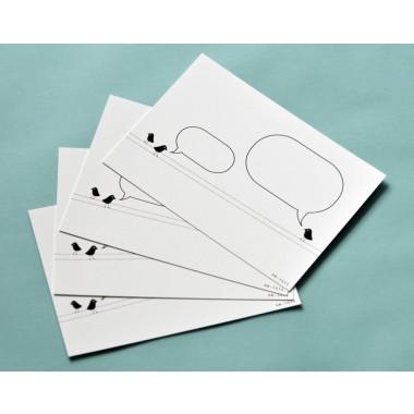 Karten...für eigene Botschaften, 10er Set