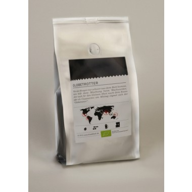 "BRÜHKULT-Espresso ""Globetrotter"" (BIO) 250g"