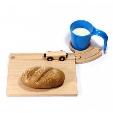 Eisenbahn Frühstücksset