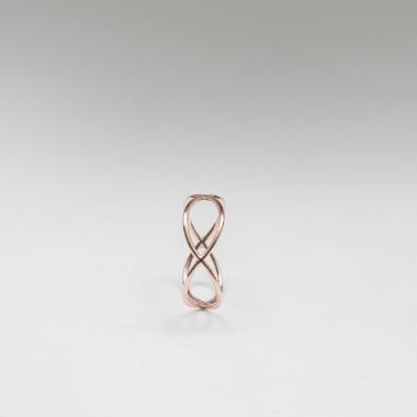 Jonathan Radetz Jewellery, Ring TIMESTWO, Roségold 375