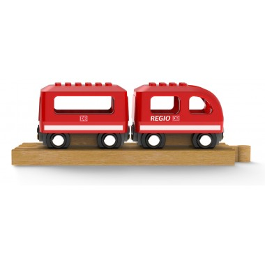 NOPPI Zug, kompatibel zu LEGO und BRIO - von Neue Freunde
