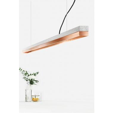 GANTlights - Beton Hängeleuchte [C3]copper Lampe Kupfer minimalistisch