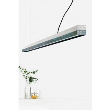 GANTlights - Beton Hängeleuchte [C3]oxid Lampe Oxidiertes Kupfer minimalistisch