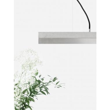 GANTlights - Beton Hängeleuchte [C2]stainless steel Lampe Edelstahl minimalistisch