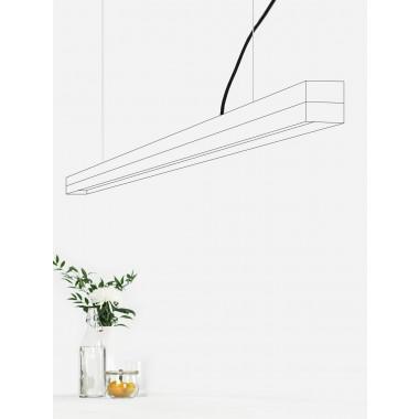 GANTlights - Beton Hängeleuchte [C3]walnut Lampe Nussbaum minimalistisch