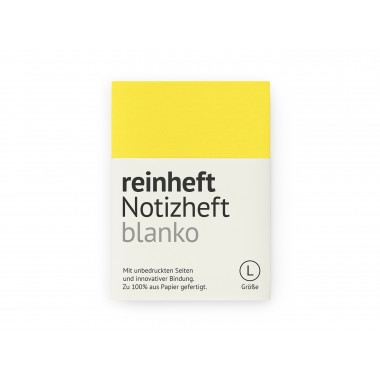 reinheft Notizheft blanko