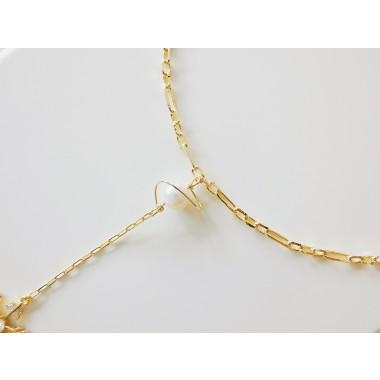 Valerie Chic - Skye Perlen Halskette - 18 Karat vergoldet