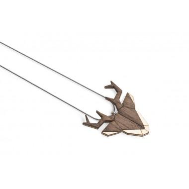 """BeWooden Halskette mit Anhänger mit Tiermotiv """"Deer Pendant"""""""