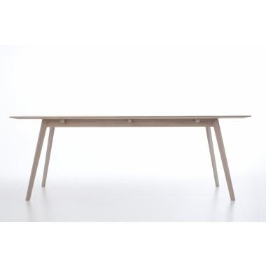 Tisch Light Eiche Weiß
