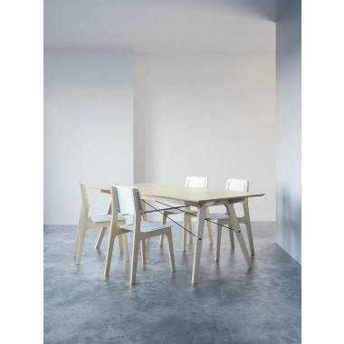 stückwerk plug(n)ply1 Tisch Birke (190x90cm)