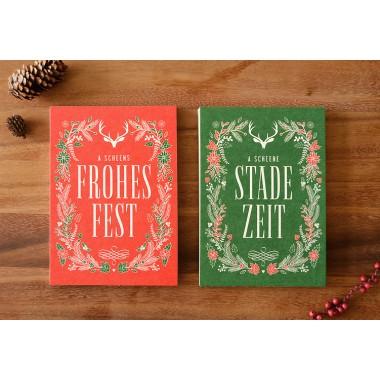 Bayerische Weihnachtsgrüße STADE ZEIT // Inkl. Naturpapier-Kuvert