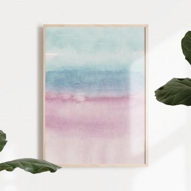 TYST 2 Print als hochwertiger Posterdruck im skandinavischen Stil von Skanemarie +++ Geschenkidee