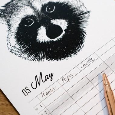 Familienplaner / Wandkalender / Kalender 2022