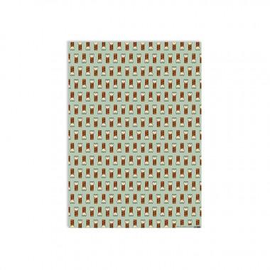 redfries wrap tiger paw – Geschenkpapier DIN B2, 3 Bögen
