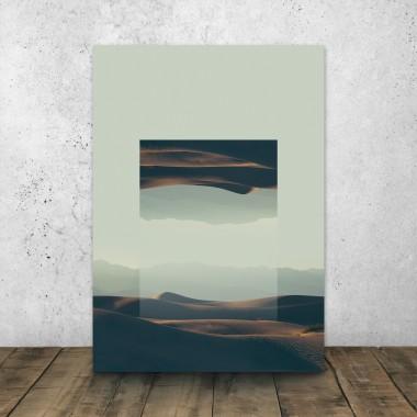 JOE MANIA / Modern Artprint Poster / Landscapes Mirrored  2 (Death Valley) DIN A4 - A0