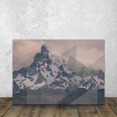 JOE MANIA / Modern Artprint Poster / Scattered Landscapes (Perito Moreno COL) DIN A4 - A0