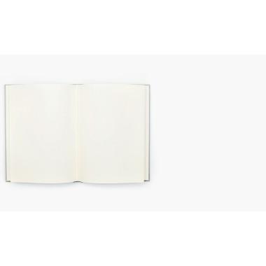Wednesday Paper Works  BLANKOBUCH LEM (KALKGRAU)