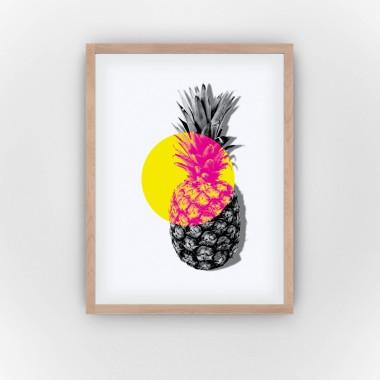 Pineapple Spotlight (Fine Art Bureau)