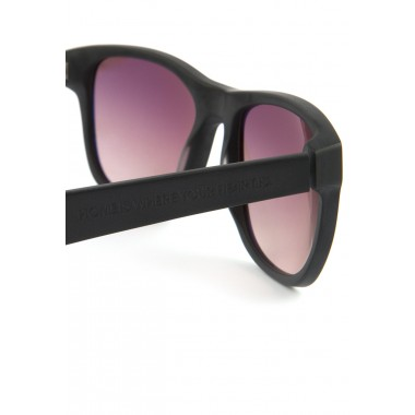 """HOME IS WHERE YOUR HEART IS. – Acetat Sonnenbrille """"BLACK BEAUTY I"""""""