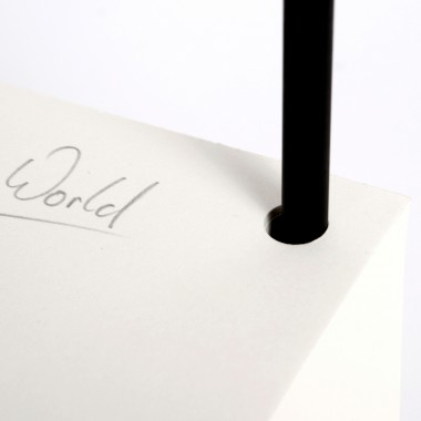 tyyp Notizblock Cube + Bleistift