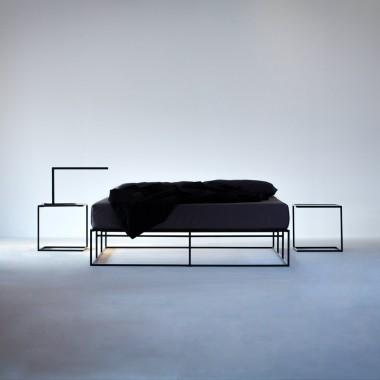 ION Bett Stahl von MAZANLI