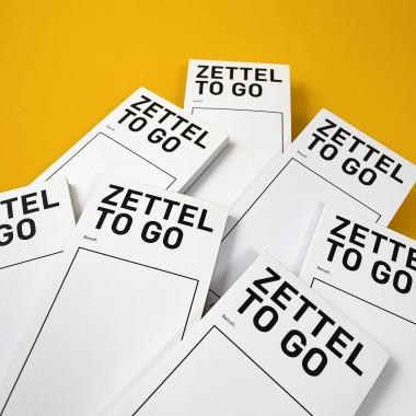 ZETTEL TO GO / Notiz Block / 2er-Set