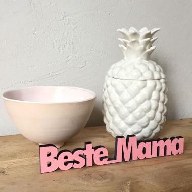 Beste Mama - 3D Holzschrift - Geschenkidee zum Muttertag