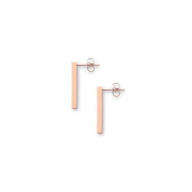BeWooden Earrings mit Holzdetail - Neue Collection - Lumen Earrings Rectangle