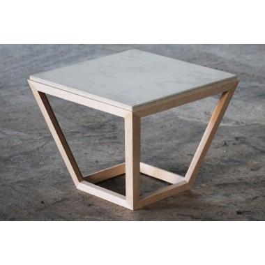 cretable - Tisch aus Holz und Beton
