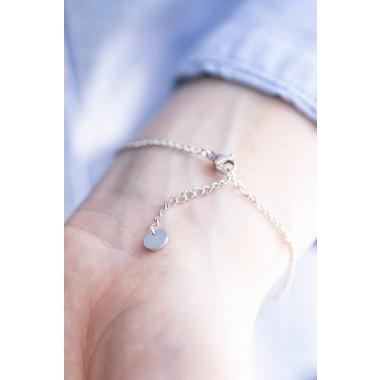 Oh Bracelet Berlin - Armband »Stern« | Farbe Silber inkl. Für Dich Karte