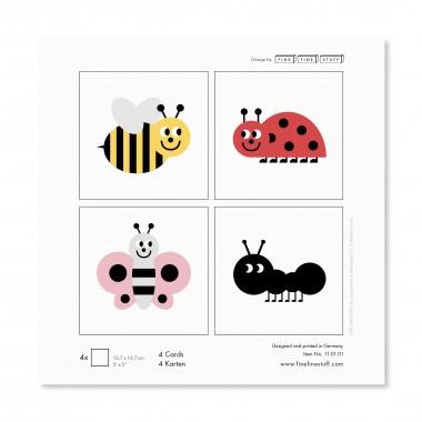 FINE FINE STUFF - Postkarten - Kinder - Geburtstag