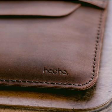 "hecho. Ledertasche ""Fernando"" für iPad Pro 10,5"", Smart Cover & Pen (Hülle, Cover, Sleeve, Schutz)"