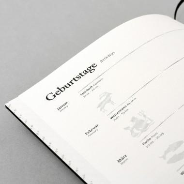 tyyp Kalender 19/2020, 18 Monate, Natur, DIN A5, Handmade
