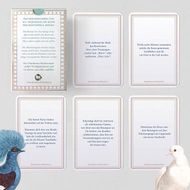 Chaoskarten Hochzeitsspiel Deluxe