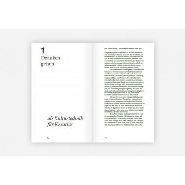 Verlag Hermann Schmidt Christian Sauer: Draußen gehen - Inspiration und Gelassenheit im Dialog mit der Natur