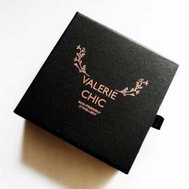 Valerie Chic - Miranda Sterne Ohrringe - 925 Silber, Swarovski, 18 Karat vergoldet
