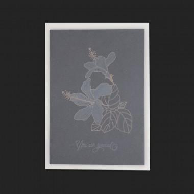 Feingeladen // BOTANICA // You are special (Black Edition) – A6
