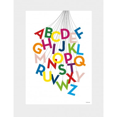 "Alphabet-Poster ""ABCircus"", DIN A2"