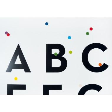 Alphabet-Poster ABConfetti, DIN A2