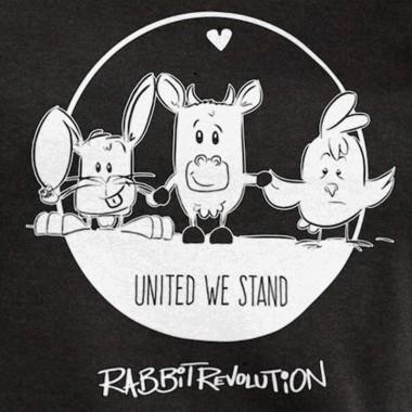 Rabbit Revolution – United we Stand - Ladies Organic Modal T