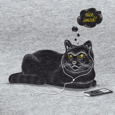 Robert Richter – Chilling Cat - Organic Cotton Unisex Hoodie